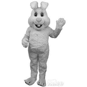 Stor hvid kanin kostume, enkel og tilpasses - Spotsound maskot