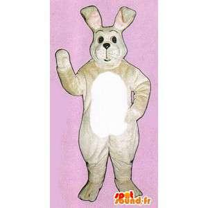 Jättiläinen White Rabbit maskotti. White Rabbit Costume - MASFR007105 - maskotti kanit