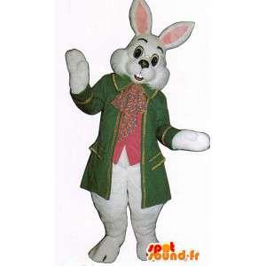 Wit konijn mascotte kostuum - MASFR007130 - Mascot konijnen