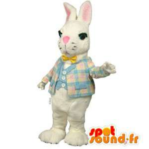 Costume white rabbit costume - MASFR007134 - Rabbit mascot