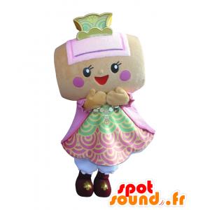 Kozuchi chan mascotte. Mascotte tamburo martello africano - MASFR28054 - Yuru-Chara mascotte giapponese