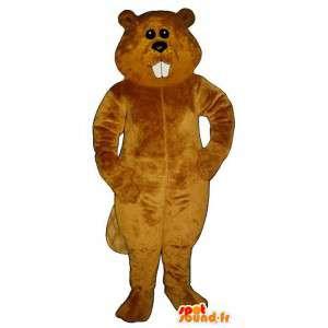 Bruine bever kostuum - MASFR007158 - Beaver Mascot