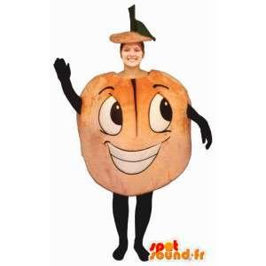 Mascot riesigen Aprikose.Kostüm Fischer - MASFR007184 - Obst-Maskottchen
