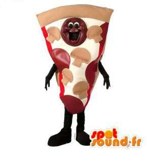 Mascotte dalla pizza gigante. Costume Pizza - MASFR007185 - Mascotte Pizza