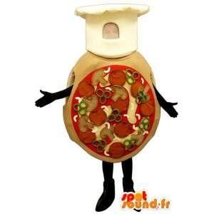 Mascotte gigante pizze - MASFR007189 - Mascotte Pizza