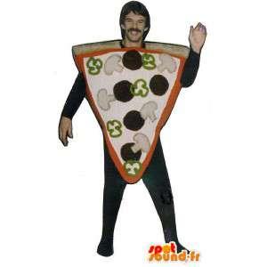 Mascotte dalla pizza gigante. Costume Pizza - MASFR007191 - Mascotte Pizza