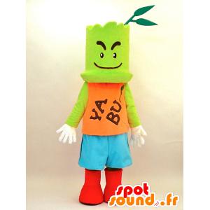 Mascotte Yabukara Boya. Verde mascotte - MASFR28347 - Yuru-Chara mascotte giapponese