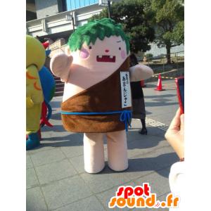 Mascot homem de Cro-Magnon olhar feroz - MASFR28352 - Yuru-Chara Mascotes japoneses