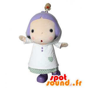 Ayame mascotte. Mascotte ragazza, principessa - MASFR28398 - Yuru-Chara mascotte giapponese