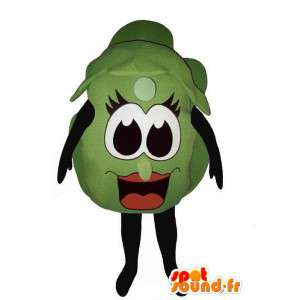 Kostüm riesigen Rosenkohl - MASFR007209 - Maskottchen von Gemüse