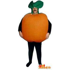 Riesen-orange-Maskottchen - MASFR007216 - Obst-Maskottchen
