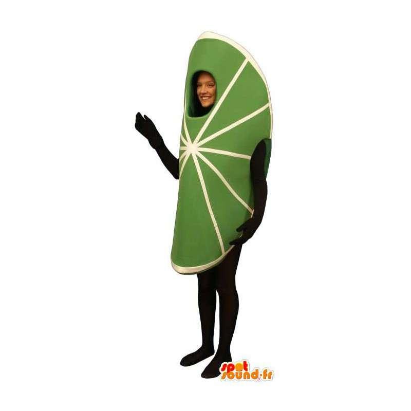 Mascot slice of lime, giant - MASFR007217 - Fruit mascot