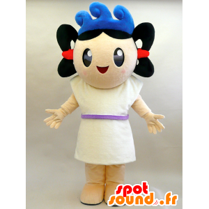 Umit kun mascot. Girl mascot with waves - MASFR28453 - Yuru-Chara Japanese mascots
