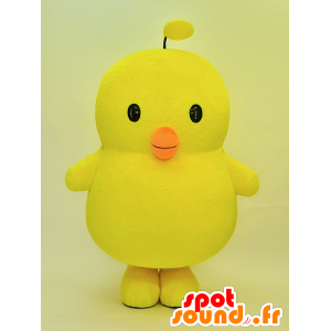 Big yellow chick mascot, very cute - MASFR28461 - Yuru-Chara Japanese mascots