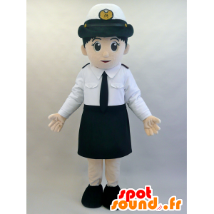 Mascotte air hostess, very elegant in uniform - MASFR28463 - Yuru-Chara Japanese mascots