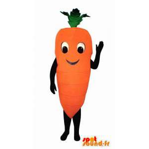 Mascot riesigen Karotte böswillige - MASFR007221 - Maskottchen von Gemüse