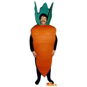 Mascot riesigen Karotte - MASFR007224 - Maskottchen von Gemüse