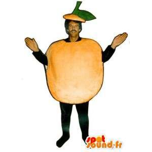Riesen-orange-Maskottchen.Kostüm Apfel - MASFR007228 - Obst-Maskottchen