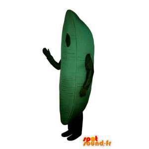 Grüne Bananen-Kostüm Riesen - MASFR007234 - Obst-Maskottchen