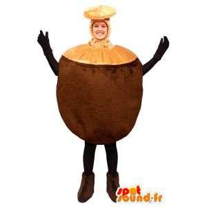 Mascot Riesenkokosnüsse - MASFR007236 - Obst-Maskottchen