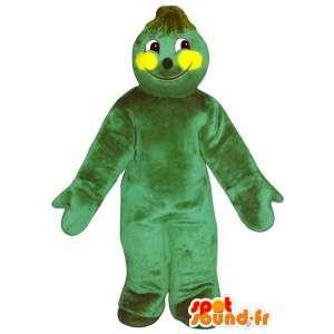 Mascot großen grünen Kerl Riesen - MASFR007241 - Menschliche Maskottchen