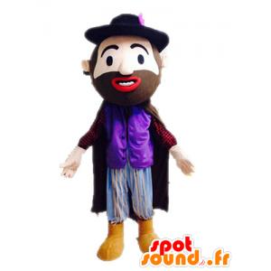 Maskottchen-Mann in einem Anzug. Mascot Zeitraum - MASFR028580 - Menschliche Maskottchen