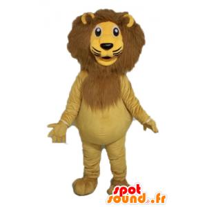 Giant lion mascot. feline mascot - MASFR028590 - Lion mascots