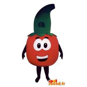 Kostüm Tomate.Disguise Tomaten - MASFR007255 - Obst-Maskottchen