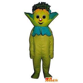 Maskottchen aller grünen Kerl mit Karotten - MASFR007256 - Menschliche Maskottchen