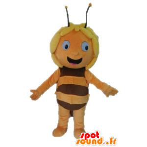 Maya the Bee mascot, cartoon character - MASFR028630 - Mascots bee