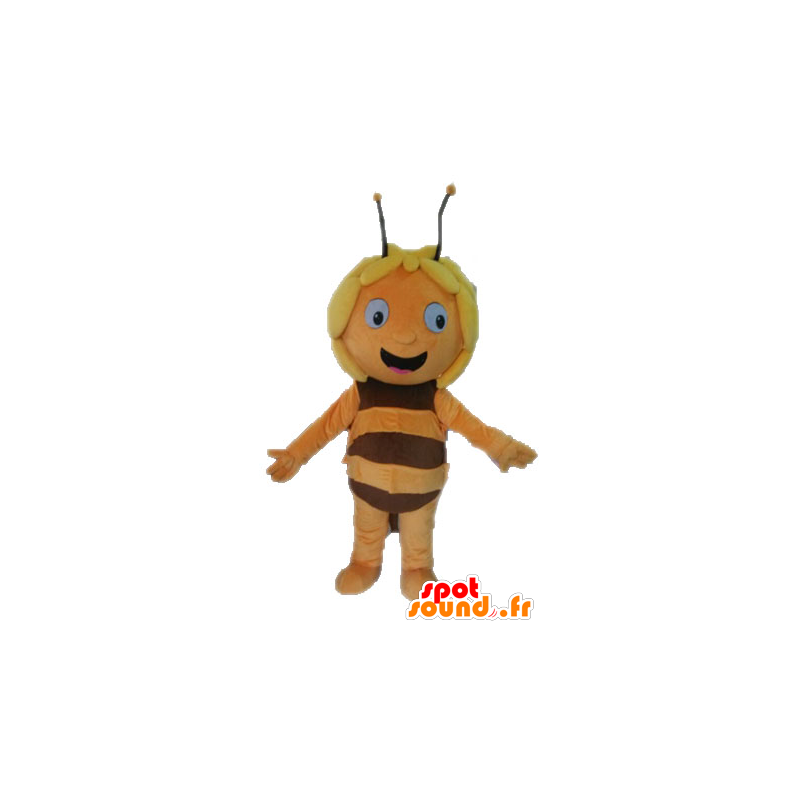 Maya la mascota de la abeja, personaje de dibujos animados - MASFR028630 - Abeja de mascotas