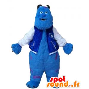 Mascot Sully, ulkomaalainen hirviöitä ja Co - MASFR028646 - Monster & Cie Mascots