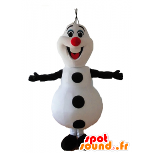 Mascot Olaf Lumiukko Lumikuningatar - MASFR028652 - joulun Maskotteja