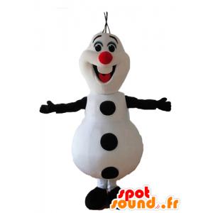 Maskot Olaf Sněhulák Sněhová královna - MASFR028652 - Vánoční Maskoti