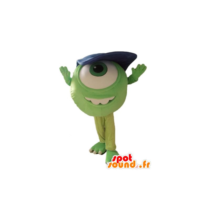 Mascotte de Bob, célèbre extra-terrestre de Monstres et cie - MASFR028654 - Mascottes Monster & Cie