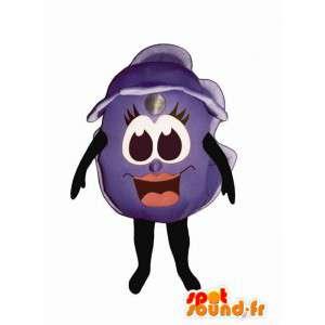 Mascot Riesenheidelbeere.Kostüm Blueberry - MASFR007267 - Obst-Maskottchen