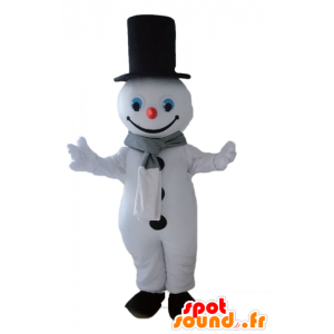Snømann maskot gigantiske snø. Winter Mascot - MASFR028661 - jule~~POS TRUNC