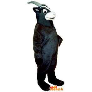Black goat mascot. Costume goat - MASFR007274 - Goats and goat mascots