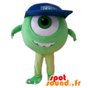 Bob maskotti, kuuluisa ulkomaalainen hirviöitä ja Co - MASFR028693 - Monster & Cie Mascots