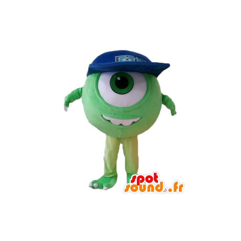 Mascotte de Bob, célèbre extra-terrestre de Monstres et cie - MASFR028693 - Mascottes Monster & Cie
