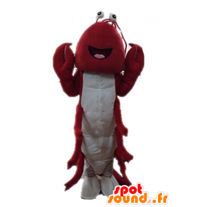 Giant lobster mascot. Mascot crayfish