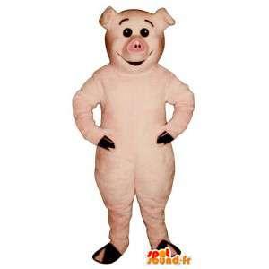 Schwein-Kostüm.Disguise Schwein