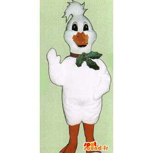 White duck maskot