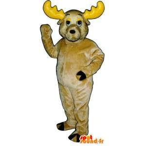 Keltainen Suit vauhtia. vauhtia Disguise - MASFR007333 - Stag ja Doe Mascots