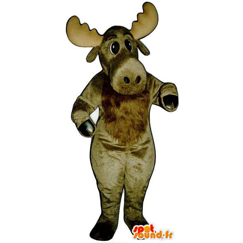Mascot brown momentum - MASFR007341 - Mascots stag and DOE