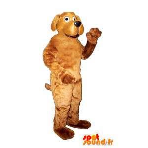 Bruine hond mascotte - MASFR007348 - Dog Mascottes