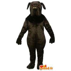 Big black dog mascot - MASFR007354 - Dog mascots