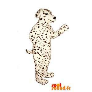 Mascot Dalmatian dog. Costumes Dalmatian - MASFR007359 - Dog mascots