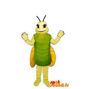 Mascotte de cricket. Costume de cricket