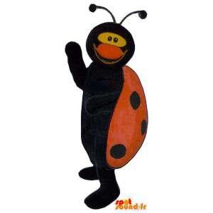Mascot leppäkerttu. leppäkerttu puku
